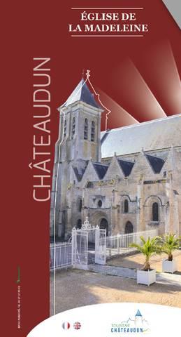 Dépliant église de la Madeleine Châteaudun