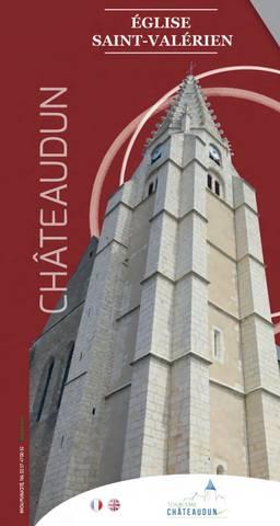 Dépliant église Saint-Valérien Châteaudun