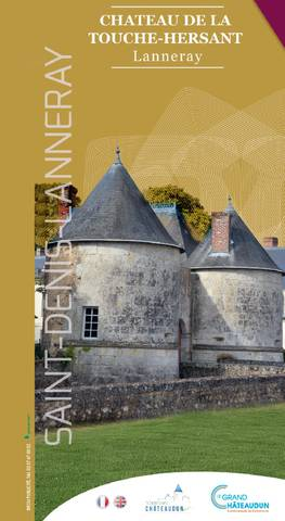 Visitors' leaflet for the château de la Touche-Hersant