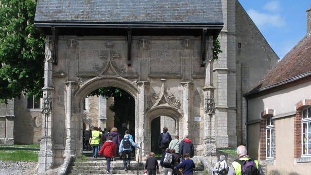 Saint Jacques's path tot Châteaudun