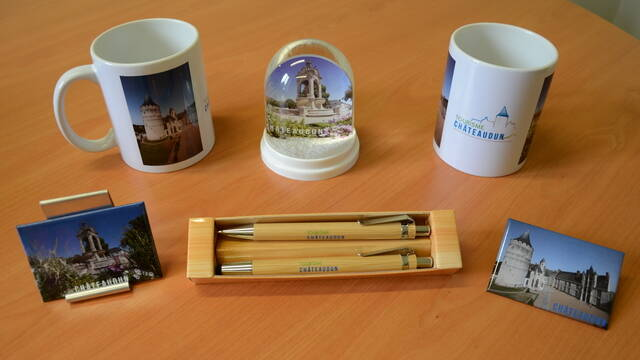 Objects sold at the Tourist Information Office