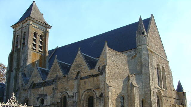 L'église de la Madeleine à Châteaudun