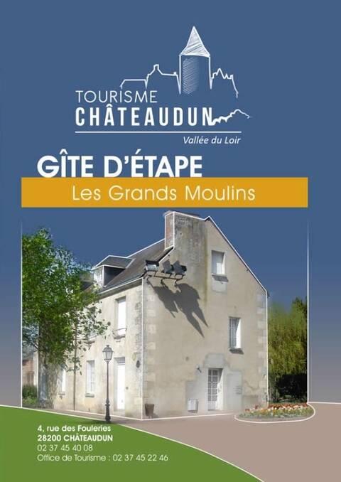 Brochure du gîte des Grands Moulins