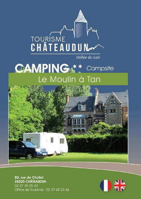 Brochure du camping du Moulin à Tan