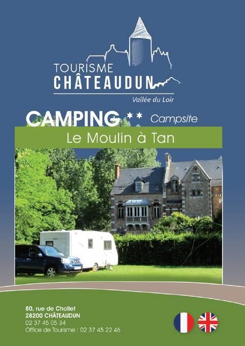 Brochure du camping du Moulin à Tan