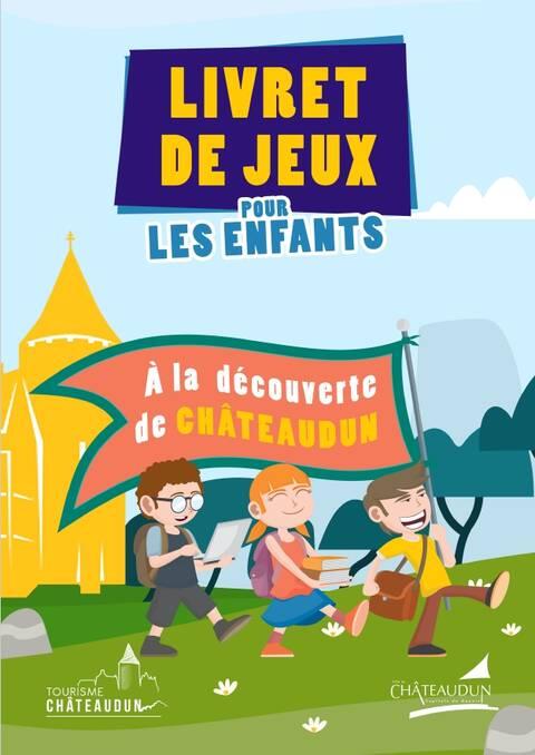 Livret jeux à la découverte de Châteaudun