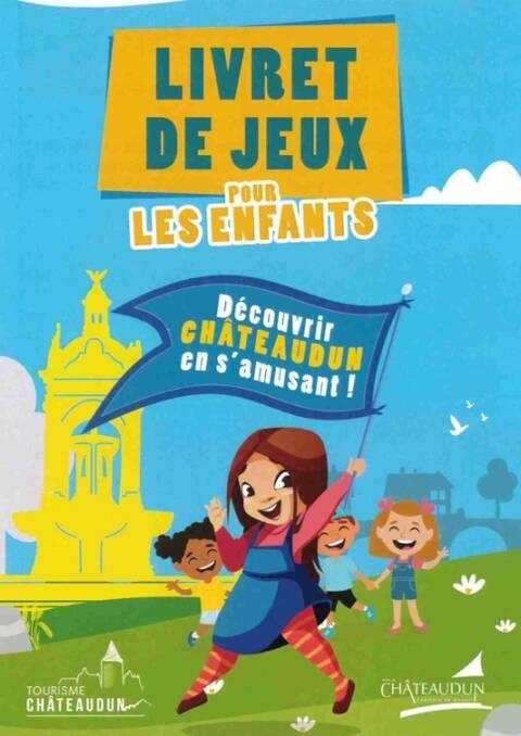 Boek met spelletjes – spelend Châteaudun ontdekken