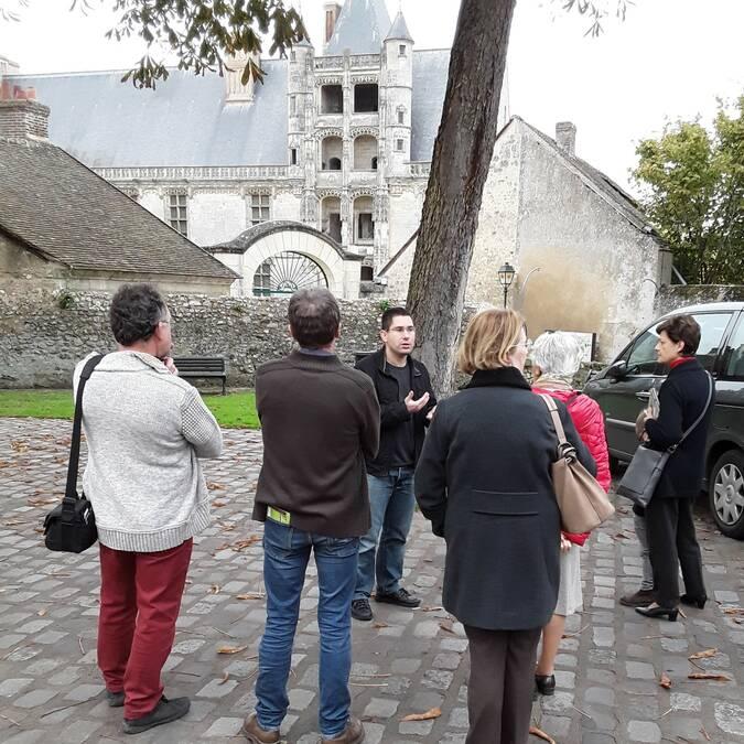 Photo d'un groupe en visite