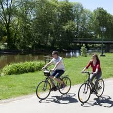 Balade à vélo le long du Loir