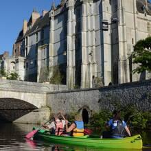 Balade en canoë sur le Loir